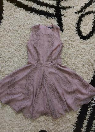 Платье платья шифоновое