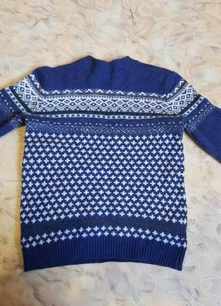 Очень красивый свитерок, на малыша, от бренда uc of benetton.