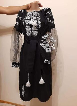 Плаття вишите (вишиванка)