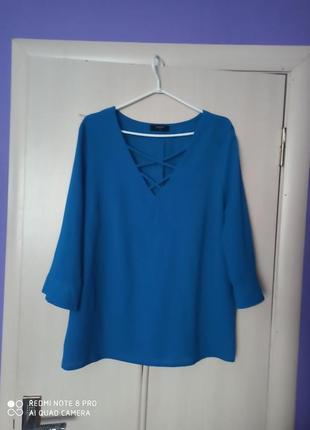 Кофточка блузочка большого размера