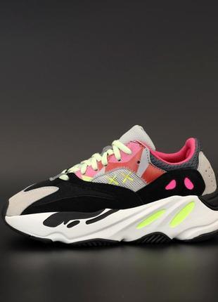 Хит продаж женские кроссовки adidas yeezy boost 700 рефлективные