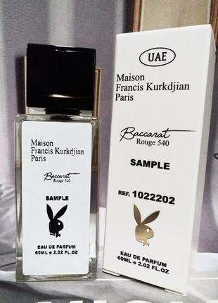 "Хит продаж ""baccarat rouge 540"" парфюм унисекс, тестер духов с феромоном, духи баккарвт"
