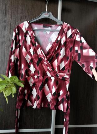 Шикарная блуза блузка с поясом. next