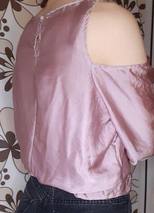 Сатинова блуза2 фото