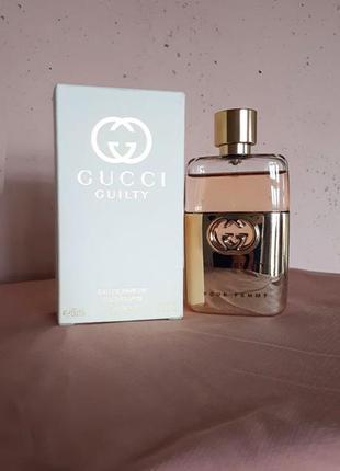 Gucci guilty eau de parfum, парфюмированная вода, 50 мл, испания, франция