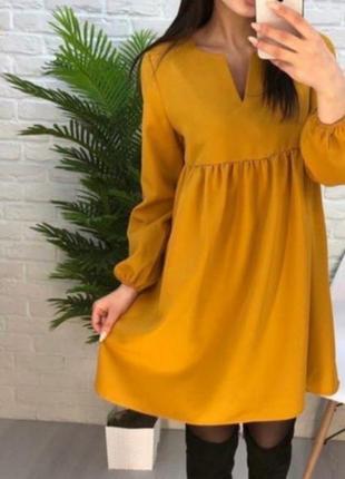 Платье ткань габардин