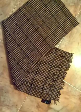 Утеплённый зимний шарф