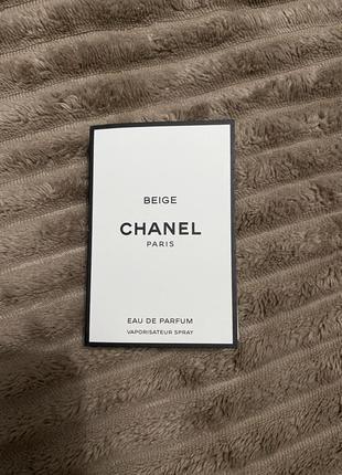 Нишевая парфюмерия chanel