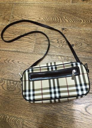 Burberry сумка кроссбоди