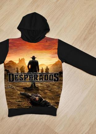Худи desperados 3 для мальчиков  , 6-14 лет, турция