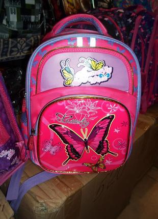Школьный, ортопедический , красивый рюкзак,ранец для девочки