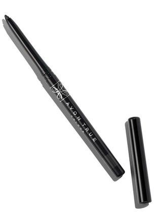 Выкручивающийся карандаш д/глаз blackest black глубокий черный