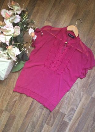 Блуза в горошек femme