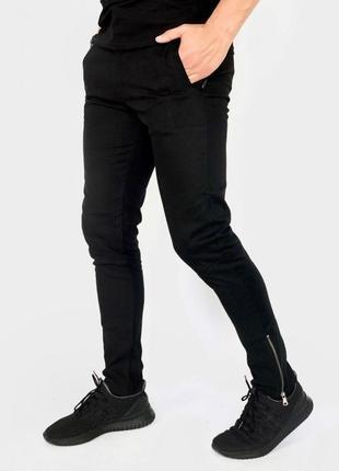 """Котоновые штаны intruder """"strider"""" черные"""