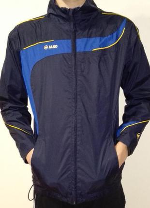 Спортивна куртка-вітровка на хлопчика.розмір 152-158 см