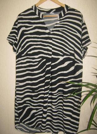 Трендовое натуральное платье рубашка
