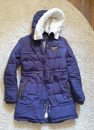 Зимняя куртка пуховик covily