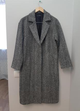 Идеальное актуальное шерстяное пальто