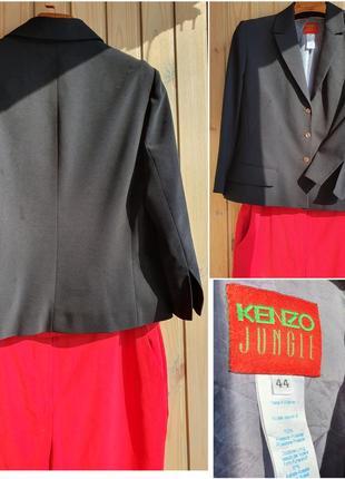 Kenzo брендовый жакет, блейзер, л