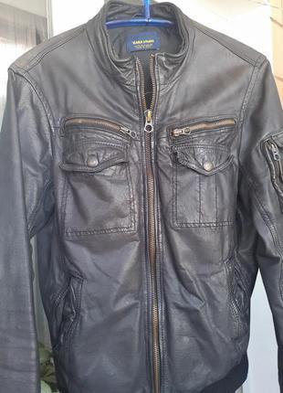 Кожаная куртка унисекс
