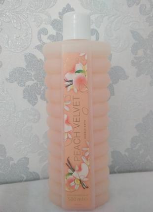 Пена для  ванны peach velvet