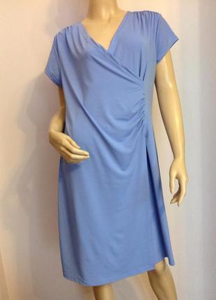 Немецкое сиреневое качественное платье/44/brend vogele