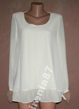 №2 кремовая блуза