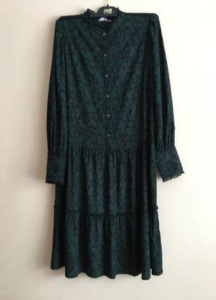 Шикарное платье с воланами bon a parte*
