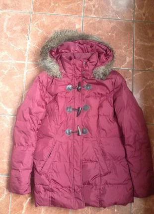 Куртка зимняя - пуховик в отличном состоянии