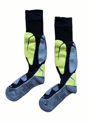 Качественные детские высокие  лыжные носки crivit kids, 27-30, 31-34, 4-6, 6-8 лет.