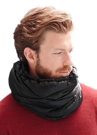 Фирменный  утеплённый шарф-снуд (унисекс) tcm tchibo.германия.оригинал.