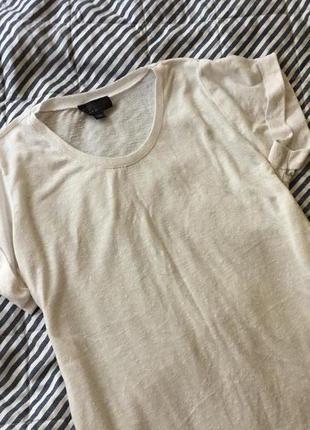 Базовая белая футболка topshop