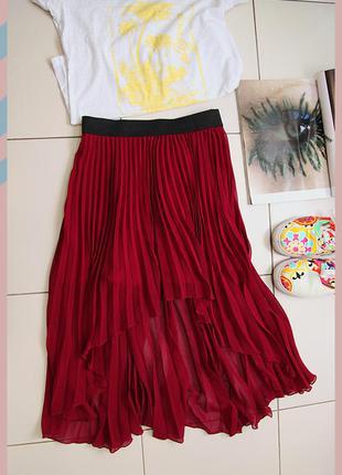 Плиссированная юбка crafted xs-s-m