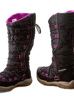 Зимние термо сапоги 35-35.5 columbia loveland omni-heat ботинки водонепроницаемые