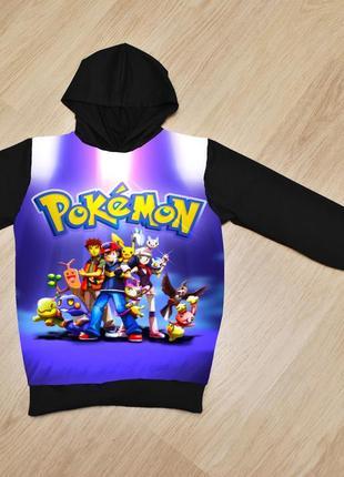 Худи покемон pokemon для мальчиков ,6-14 лет, турция
