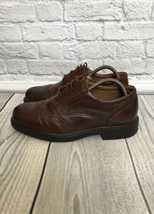 Туфли классические лоферы оксфорды кожаные 42 размер