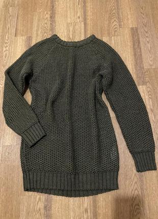 Платье, свитер
