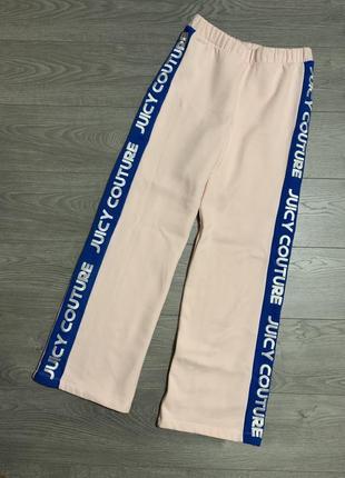 Juicy couture, фирменные широкие штаны с лампасами, р. м. оригинал
