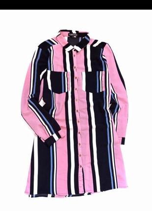 Фирменное платье рубашка