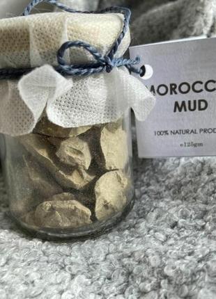 Египет. марокканская. вулканическая. глина для лица.