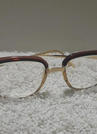 Винтажные очки оправа из германии.