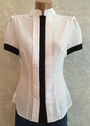 Блузка белая modus