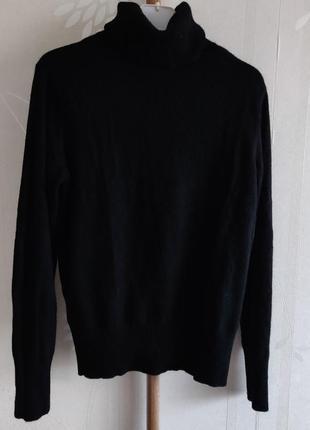 Кашемировый свитер гольф джемпер