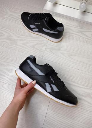 Мужские кожаные кроссовки reebok cl оригинал