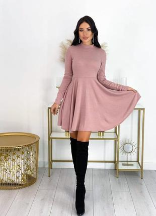 Повседневное удобное платье