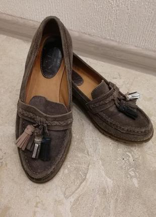 Мокасины туфли броги