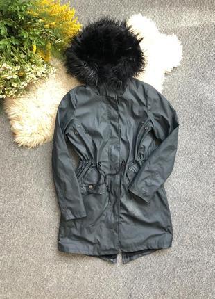 Куртка на меху не промокаемая дождевик