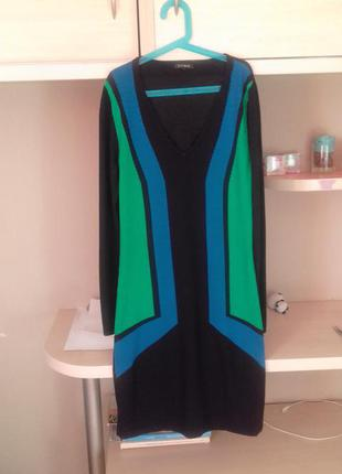 Платье трикотажное французской фирмы yuka