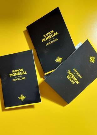 Нишевый парфюм mon cuir ramon monegal унисекс. испания. оригинал.