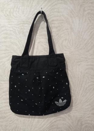Джинсовая сумка adidas